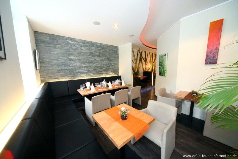 restaurant dreiundvierzig in erfurt. Black Bedroom Furniture Sets. Home Design Ideas