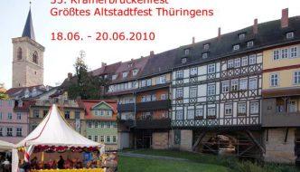 Krämerbrückenfest Erfurt 2010