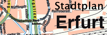 stadtplan erfurt anreise eve tourist information in erfurt. Black Bedroom Furniture Sets. Home Design Ideas