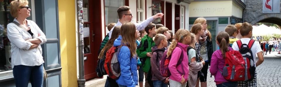 Erfurt Schüler Stadtführung