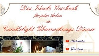 Candlelight Dinner in Erfurt