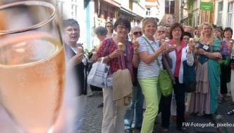 Prickelndes und Süßes - Die Erfurter Genusstour