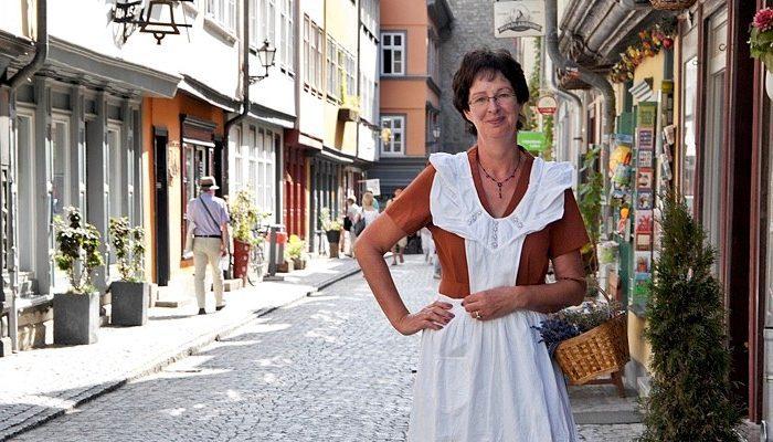 Erfurter Brückenkrämerin, Stadtführung